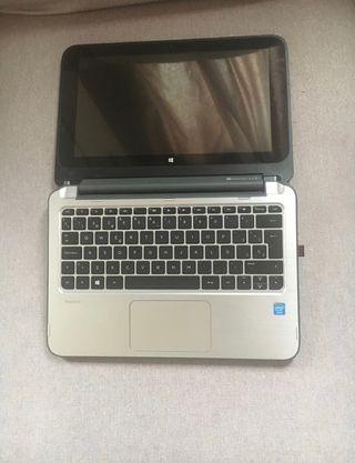 Ordenador portátil convertible HP + maletín