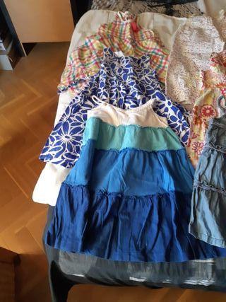 14 vestidos niña T/ 2_4 años