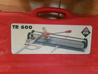 Máquina cortaazulejos Rubi TR600