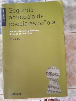 Sengunda antología de poesia española