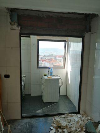 Ventana / puerta corredera aluminio climalit