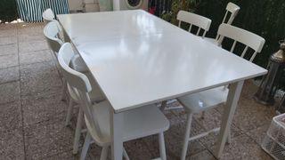 mesa comedor extensible Ikea