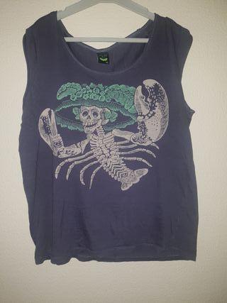 camiseta tirantes Diseño Escorpión