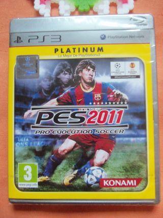 PES 2011 PS3 Precintado