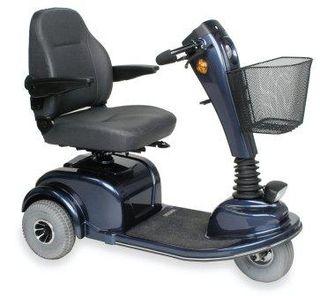 scooter eléctrico de movilidad.
