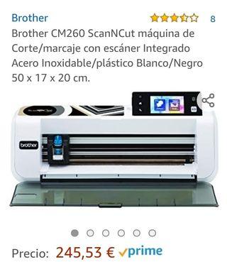 máquina doméstica de corte con scaner