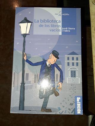 """Libro """"La biblioteca de los libros vacíos"""""""