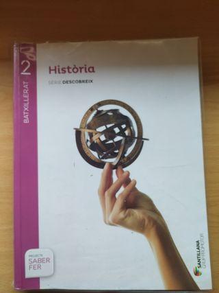 Libro de historia bachillerato Cataluña
