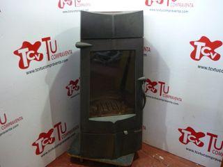 Estufa leña Invicta Chamane 14 KW hierro fundido