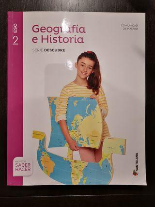 Geografia e Historia 2 ESO ISBN 9788468039800