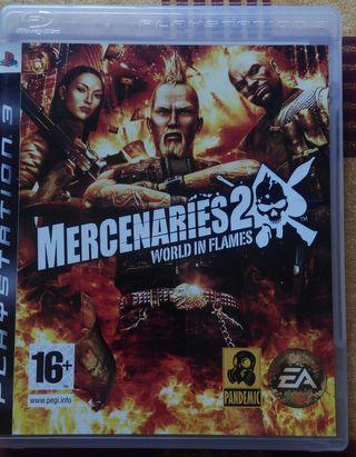Mercenaries 2 PS3.