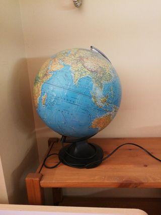 globo terrestre. bola del mundo