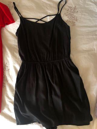 Mono corto negro H&M