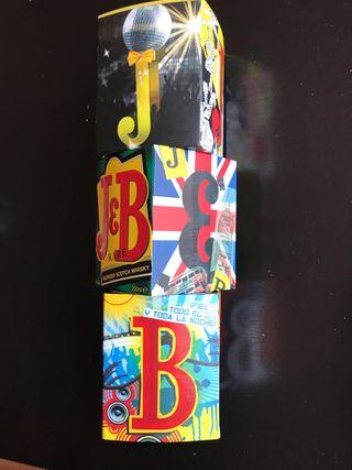 Caja edición limitada J&B