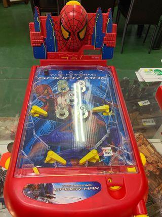 Pinball spider- man