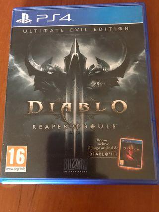 Diablo 3 Reaper Souls PS4
