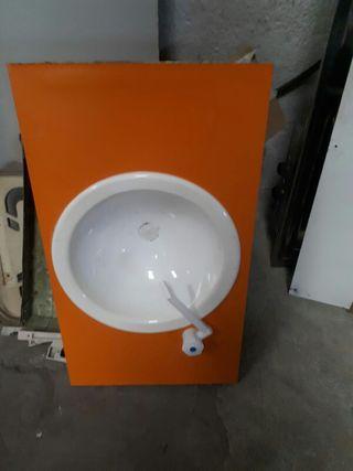 lavabo + grifo Caravana