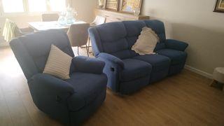 1 Sofa + 2 Sillones