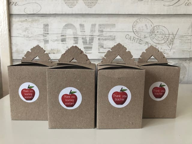 Teacher/Teaching Assistant Bath Bomb Gift Box