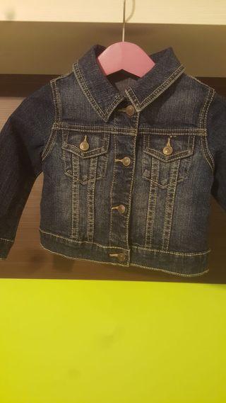 chaqueta tejana de 12 meses