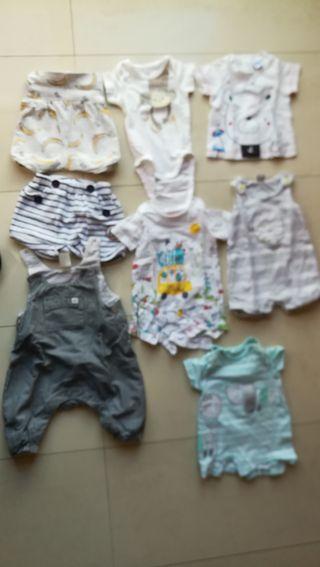 ropa para niño de 1 mes