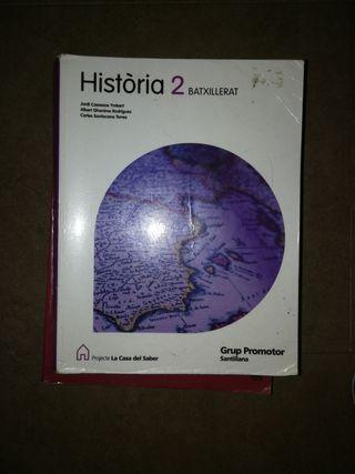 libro de historia 2 de bachillerato