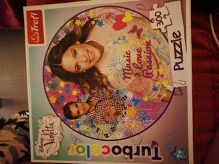 puzzle 300 piezas violetta
