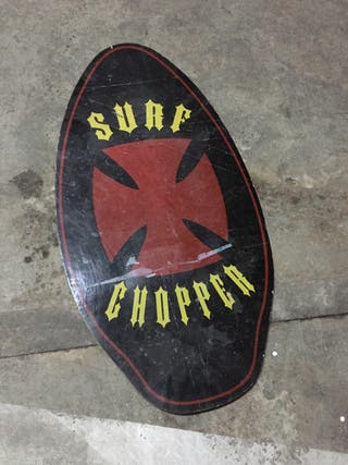 Tabla de surf para orilla skimboard chopper