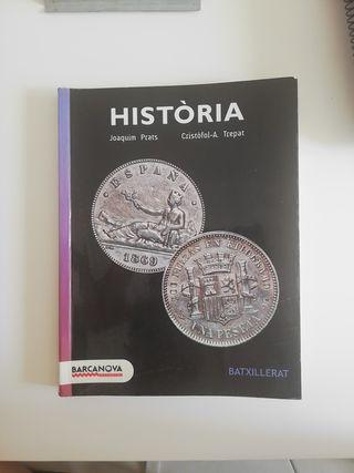 Libro de Historia. Barcanova