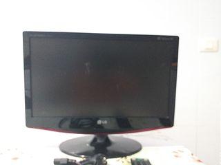 tv LG e monitor ordenador