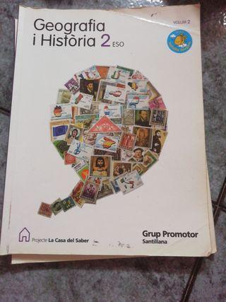 Libros Geografía y Historia