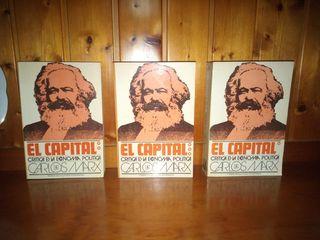 El Capital : critica de la economía política