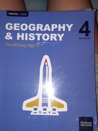 libro de geografía y historia 4 eso Oxford