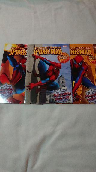 Libros Spiderman 3x3€ NUEVOS