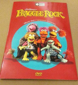 FRAGGLE ROCK álbum plancha + 4 DVD