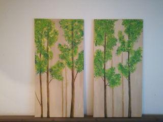 cuadros árboles