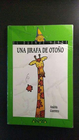 Libro Una jirafa de otoño