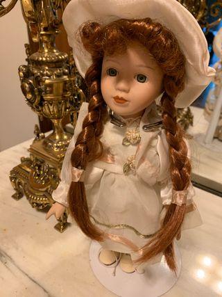 Muñeca de porcelana 26cm
