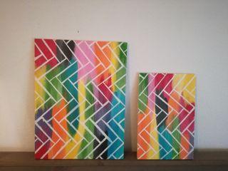 cuadros de colores