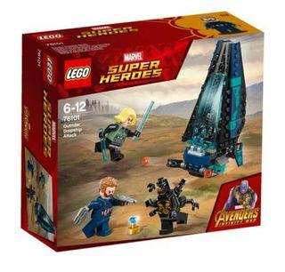 Lego 76101. Ataque de la nave de los Outriders