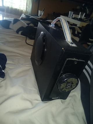 altavoz bluetooth portatil