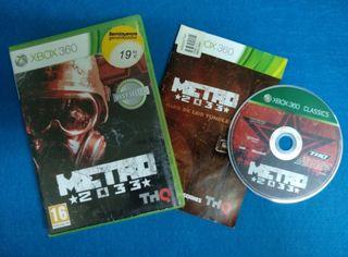 Xbox 360 - Metro 2033