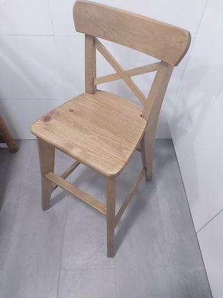 silla niños ikea