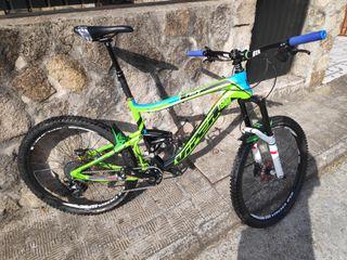 Bicicleta enduro 150 mm talla L