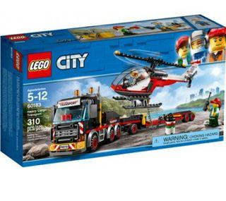 Lego 60183. Camión de mercancías. Nuevo