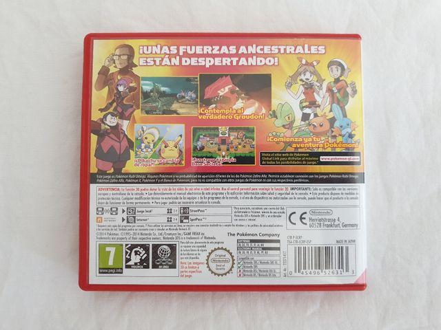Pokemon Rubi Omega Nintendo 3DS