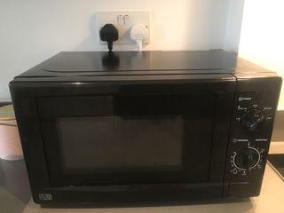 Manual Microwave - Black