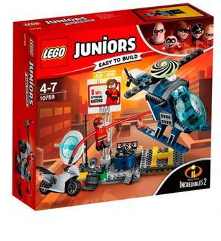 Lego 10759. Persecución por los tejados. Nuevo