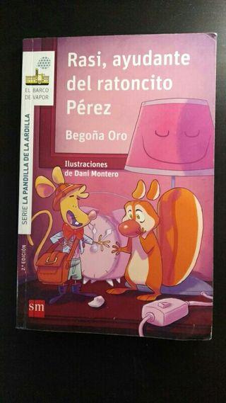 Libro Raisi ayudante de Ratoncito Pérez
