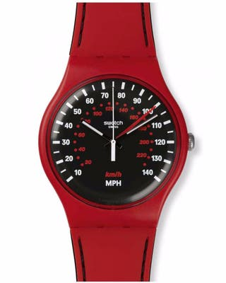 Reloj Swacht modelo Red Brake